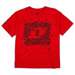 One Industries La Cucaracha Short-Sleeves Men's Tee - Red - Size- Medium