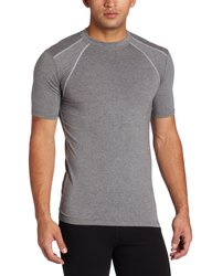 Tasc Performance Men's Hybrid Fitted T-shirt - Heather Grey - Size: XXL