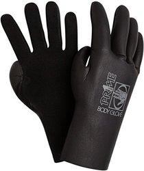 Body Glove Men's 3mm Prime 5-Finger Neoprene Wetsuit Gloves - Black - Sz:L