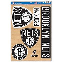 Brooklyn Nets NBA Decal Set