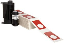 "Brady PTLEP-168-593-RD 1.9"" Height, 1.2"" Width, B-593 Adhesive-Taped Polyester, Red Color Raised Panel Labels For TLS Printers (Pack Of 100)"
