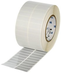 Brady THT-37-352-10 Tamper-Resistant Metallized Vinyl Thermal Transfer Printable Labels , Silver (10,000 Labels per Roll, 1 Roll per Package)