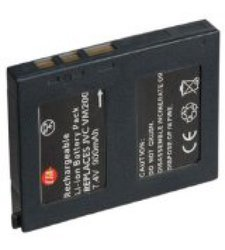 CTA Digital 900mAh Rechargeable Lithium-Ion Battery for JVC BN-VM200