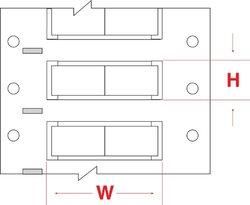 White PermaSleeve  Polyolefin Wire Marker,  Wire Sleeve