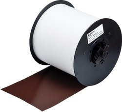 "Brady 115759 MiniMark Industrial Label Printer Super Tough Vinyl Tape, Vinyl Film with Permanent Adhesive, 4.000"" x 100' 4.000"" x 100'"