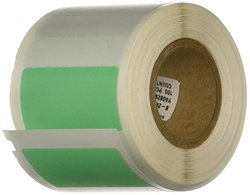 Brady WML-517-292-GR Self-Laminating Vinyl I.D. Pro Plus,  Ls2000 & Bradymarker xc Plus Printer Labels , Green/Translucent (100 Labels per Roll, 1 Roll per Package)