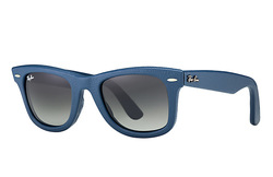 Ray Ban Unisex: Blue / Gray Lens Sunglasses
