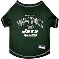 Pets First New York Jets T-Shirt - Size: Large