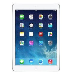 "Apple 9.7"" iPad Air 16GB Wi-Fi + Cellular (AT&T) - Silver/White (ME997LL/B)"