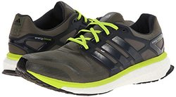 adidas Men's Energy Boost 2 Running Shoe - Earth Green/Night Shade