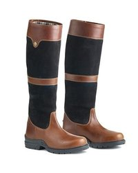 Ovation Women's Kenna Country Boot - Black/Brown - Size: 41