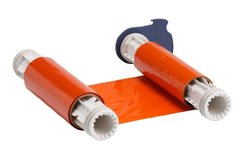 "Brady 6.25"" x 200' PowerMark Single Color Ribbon - Orange"