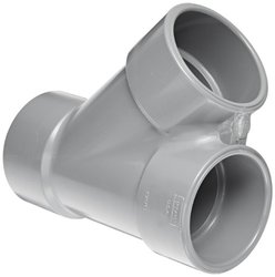 "Spears 875-C Series Schedule-80 3""-Socket Wye CPVC Pipe Fitting"