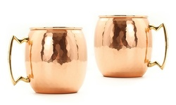 Old Dutch 16oz Copper Moscow Mule Mugs - Set of 2