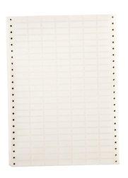 "Brady DAT-51-619-10 1"" Width x 0.375"" Height, B-619 Permanent Polyester, Matte Finish White Datab Dot Matrix Printable Label (Pack of 10000)"