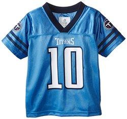 Tennessee Titans Jake Locker Toddler Team Replica Jersey - Navy - Size: 3T