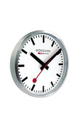 Mondaine A990.CLOCK.16SBB White Dial Wall Clock