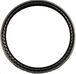 "Garlock 21238-4064 Rubber Klozure Oil Seal, Model 64, Mill-Right N, Single Lip Spring Loaded, 11-3/4"" Inside Diameter, 13-1/4"" Outside Diameter, 11/16"" Width"