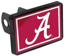 """Alabama Crimson Tide A Hitch Cover Fits 2"""" Auto Truck Receiver - 1-1/4x2"""""""