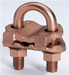 Box of 25 Burndy GAR6429 Grounding Connectors / Clamps 2/0-250 3/8IPS