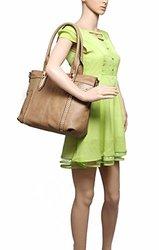 MKF Collection Women's Adele Style Handbag - Khaki - One Size