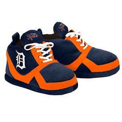 MLB Detroit Tigers 2015 Sneaker Slipper, Small, Blue