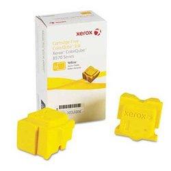Xerox  ColorQube  Yellow Ink Sticks (XER108R00928) Pack Of 2 yellow