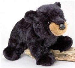 "Boulder Black Bear 12"" by Douglas Cuddle Toys"