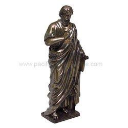Saint Peter Holding Key of Heaven Statue Divinity Series Gospel