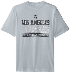 NHL Los Angeles Kings Overtime S/S Tee, X-Large, Grey