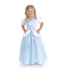 Little Adventures Girl's Cinderella Dress Up Costume - Deluxe - Size: XL