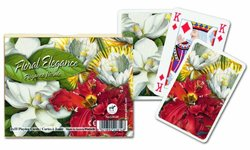Piatnik Floral Elegance Double Deck Playing Cards