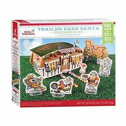 Xim Trailer Park Santa Kit - Gingerbread Trailer House and Sleigh