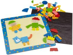 Haba Fantasia Magnetic Puzzles Game - Multi Colored