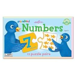 eeBoo Pre-school Numbers Puzzle Pairs For kids
