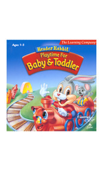 "TLC Reader Rabbit ""Playtime For Baby & Toddler"" Leraning Game"