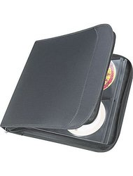 "Staples 128 CD Wallet, Black, 11.7"" x 12.4"" x 1.9"" (33311)"