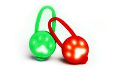 Karmaduke Waterproof Soft Noise Free LED Light Tags for Pets