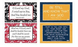 ScriptureArt Bible Verse Elaina/Comfort Spiritual Wall Decal - Set of 2