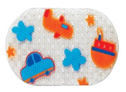 Small World Toys Travel Time Baby Bathmat - Multi - Size: 27''W x 15''H
