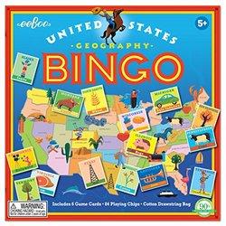 eeBoo United States Printable Bingo cards