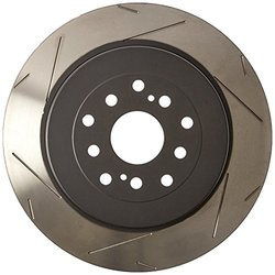 DBA 4000 Series 6x6 Wiper-Slot Rear Vented Left-Hand Disc Brake Rotor
