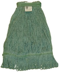 Zephyr HC/Blend 4 Ply Yarn Health Care Loop Mop Head - Green - Size: M