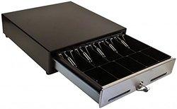 MS Cash Drawer USB Interface Cash Drawer - Black