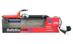 "Babyliss PRO 1"" TT Tourmaline 500 Curling Iron - Red/Black"