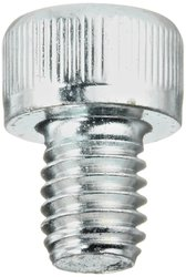 Small Parts 50mm Alloy Steel Zn Plated Socket Cap Screw - Pack of 100