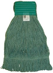 """Zephyr HC/Blend Loop Mop Head with 5"""" Mesh Wide Band (28261) - Pack of 12"""
