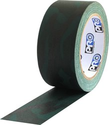 ProTapes Pro Camo Gaff Matte Cloth Camouflage Tape - Pack of 24 - Green