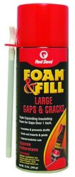 Red Devil Foam and Fill Expanding Polyurethane Sealant - Champagne - 12oz