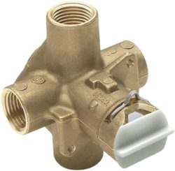 Moen FP62300 Posi-Temp Brass Rough-In Valve for Faucet with Flush Plug